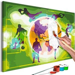 Obraz do samodzielnego malowania – Mistrzostwa – 60×40