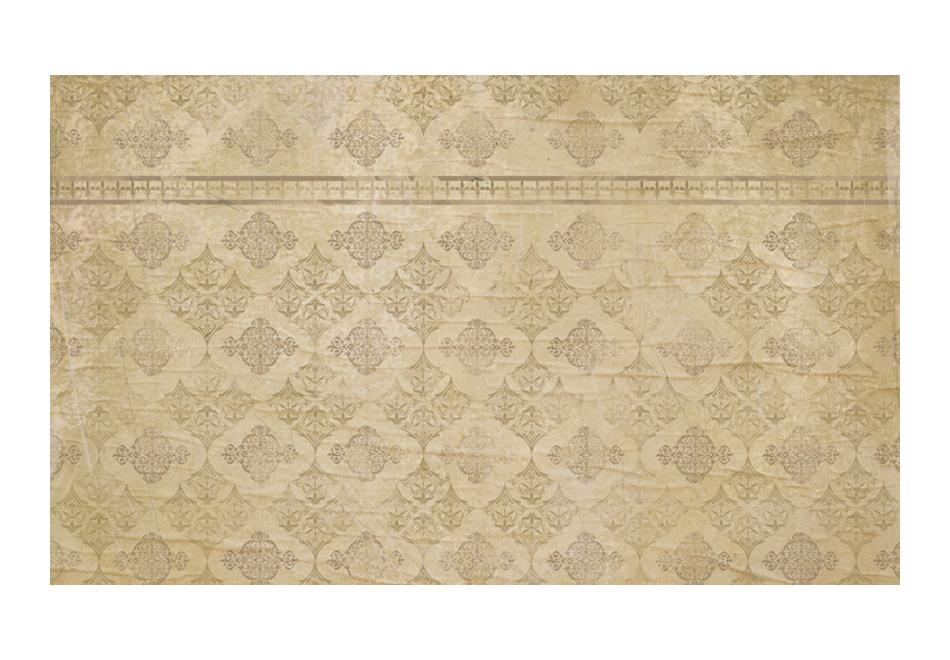 Fototapeta – Wysłużona barokowa tapeta