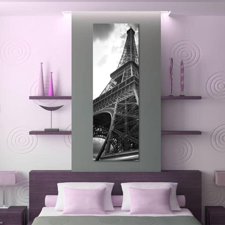 Obraz – Oniryczny Paryż: czarno-biały