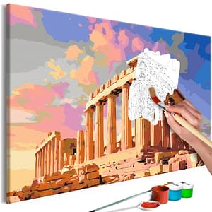 Obraz do samodzielnego malowania – Akropol – 60×40