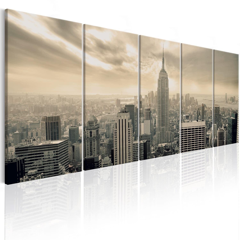 Obraz – Beżowy Manhattan
