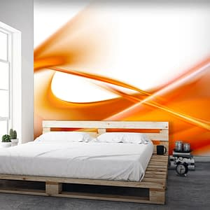 Fototapeta – abstrakcja – pomarańczowy
