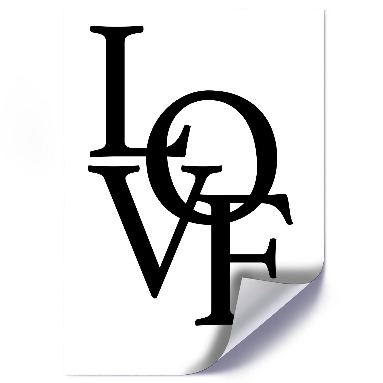 Plakat CZARNE LOVE
