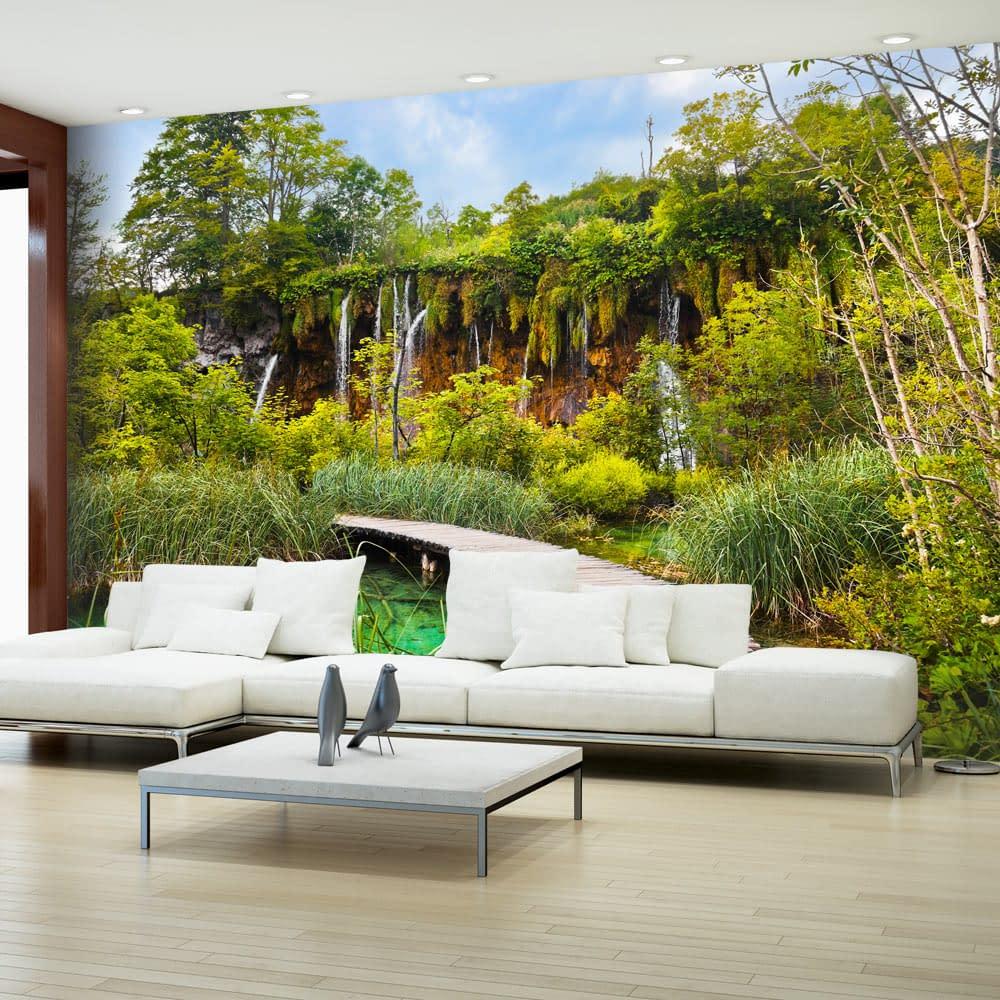 Fototapeta samoprzylepna – Zielona oaza