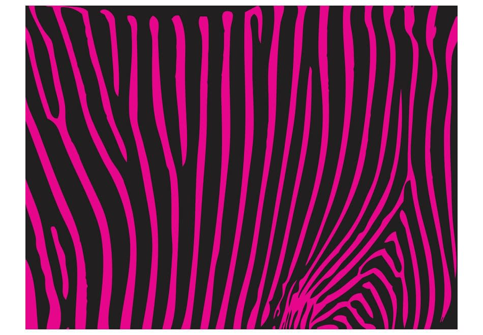 Fototapeta – Zebra pattern (fioletowy)