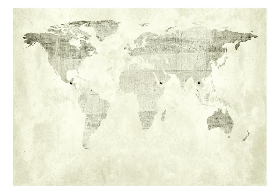 Fototapeta samoprzylepna – Zielone kontynenty