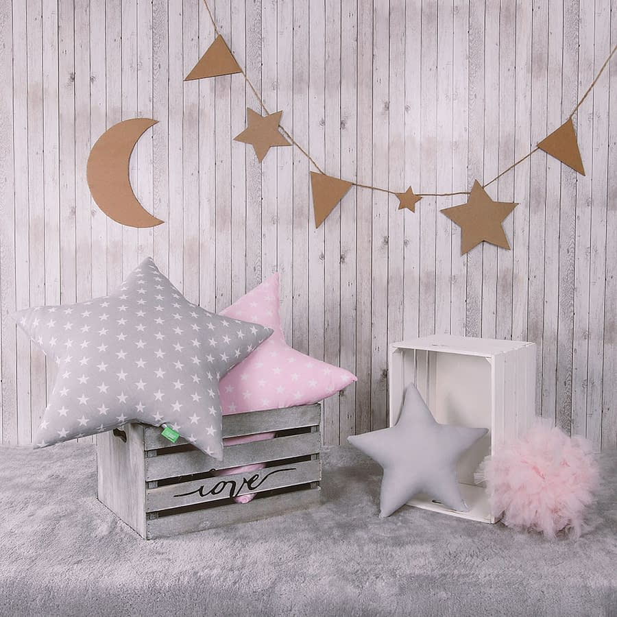 Poduszki gwiazdki zestaw Stars - Pink