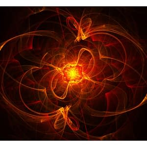 Fototapeta – Abstract fire
