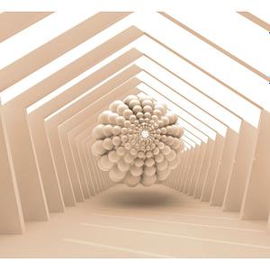Fototapeta – Abstrakcyjny korytarz