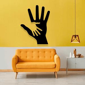 Dekoracja na ścianę DŁONIE