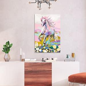 Obraz do samodzielnego malowania – Bajkowy koń – 40×60