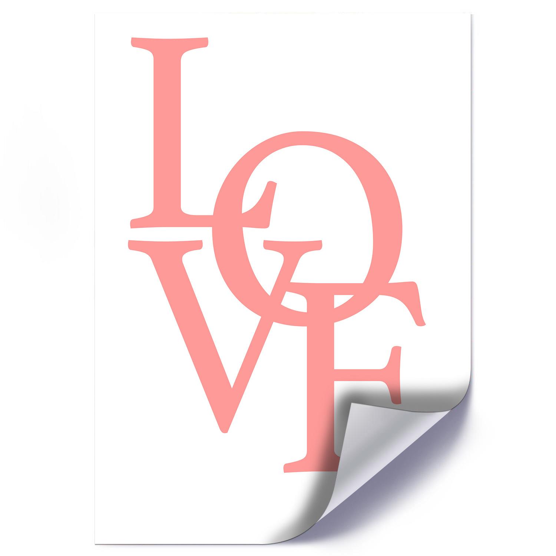 Plakat CZERWONE LOVE