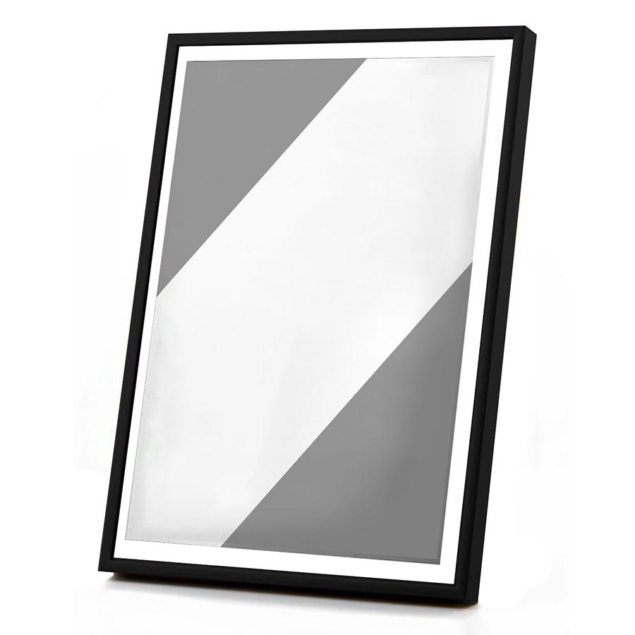Ramka czarna szkło – 30×40 cm