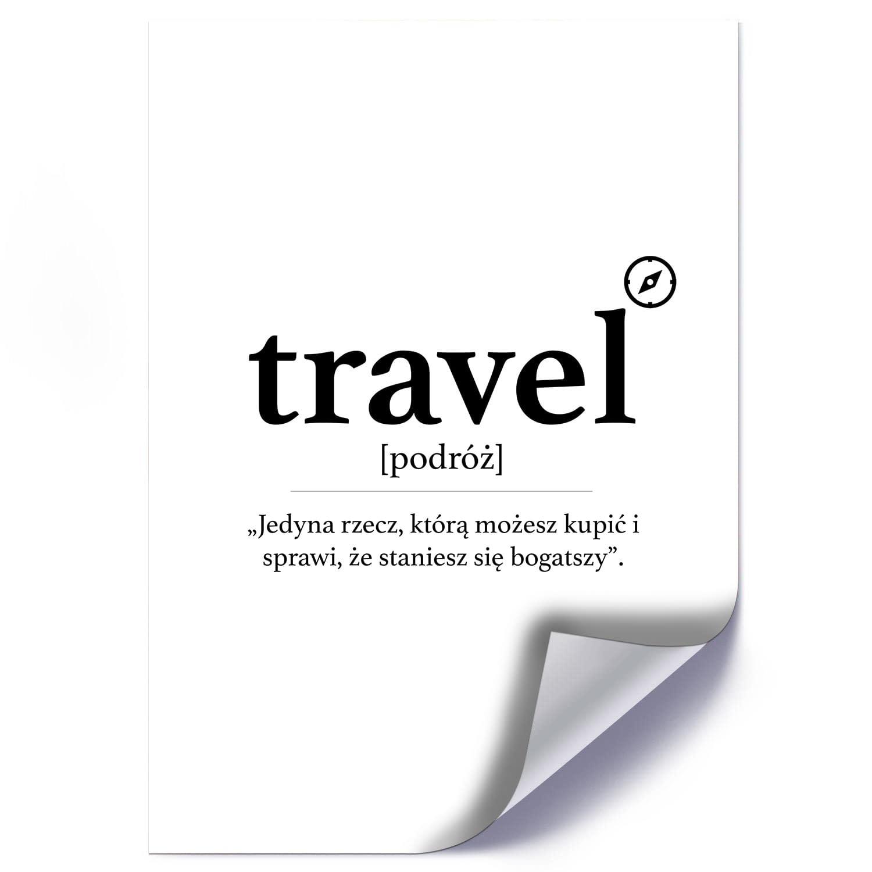 Plakat TRAVEL