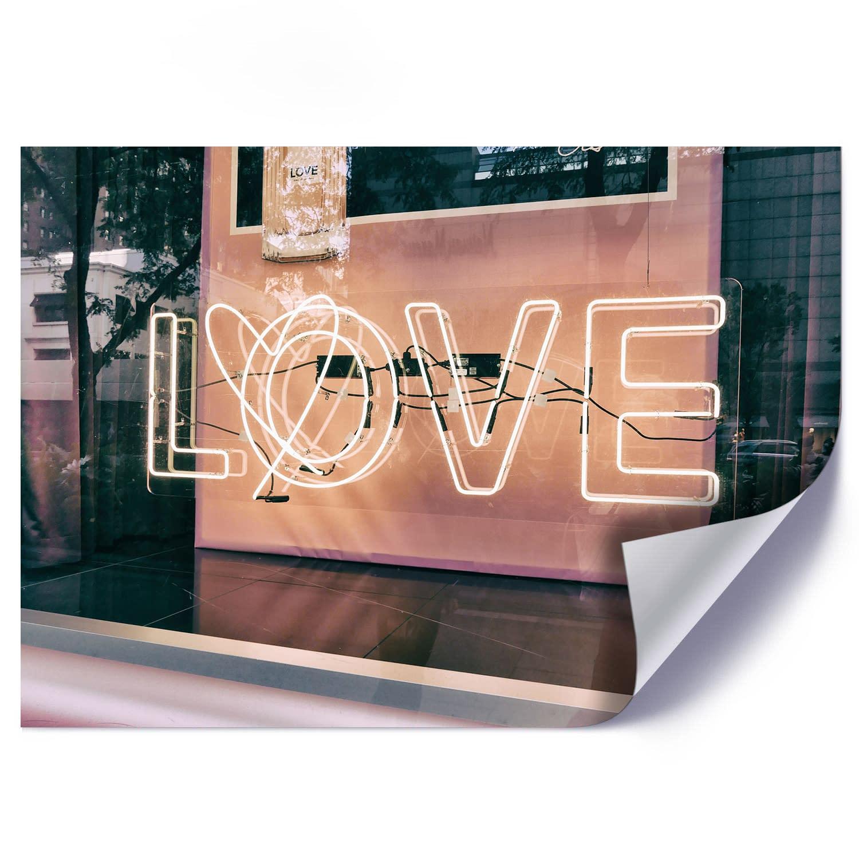 Plakat JASNY NEON LOVE