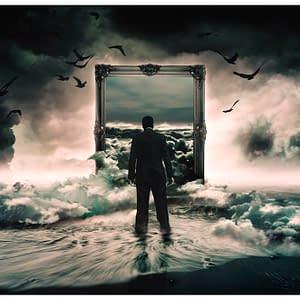 Fototapeta – A walk in the clouds