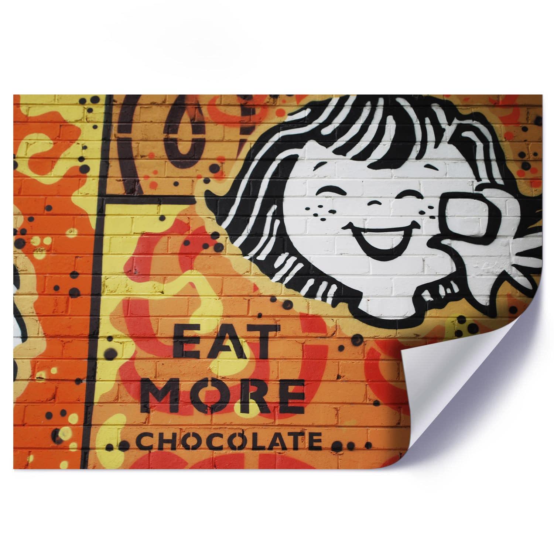 Plakat EAT MORE CHOCOLATE