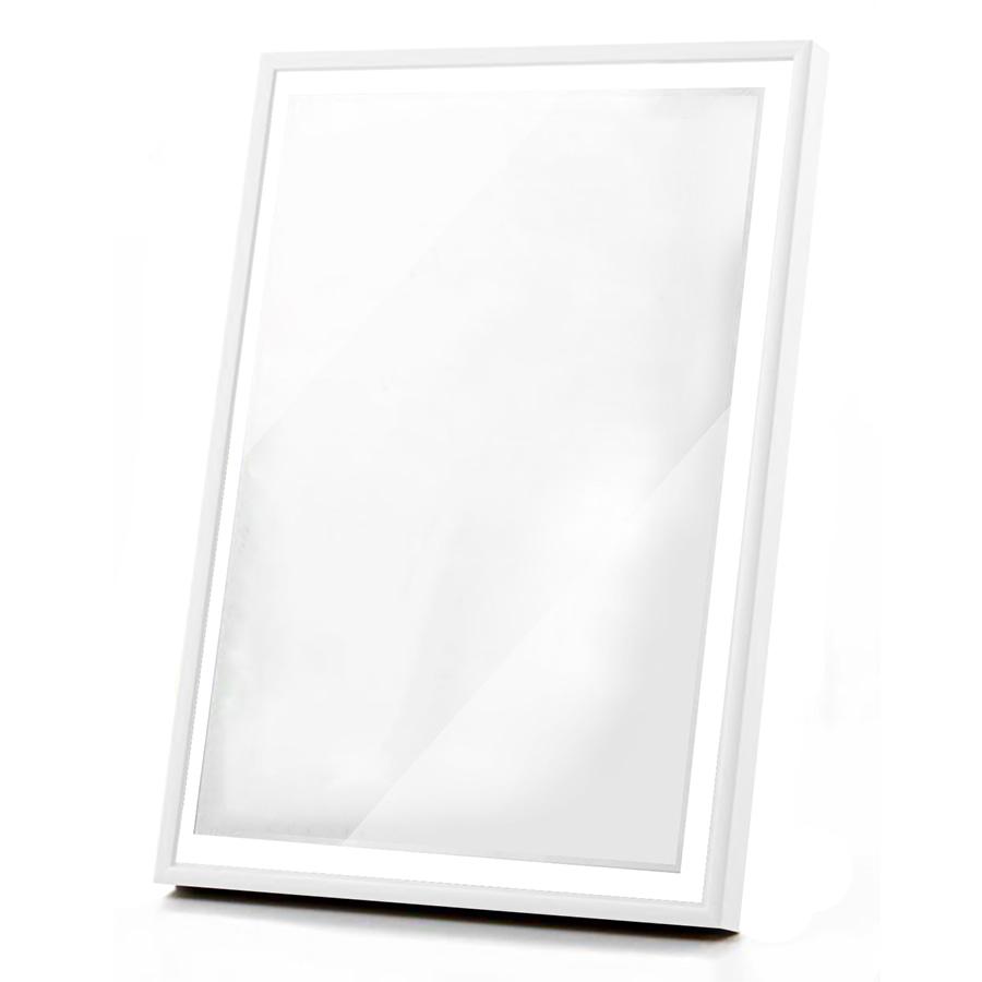 Ramka biała pleksi – 70×100 cm