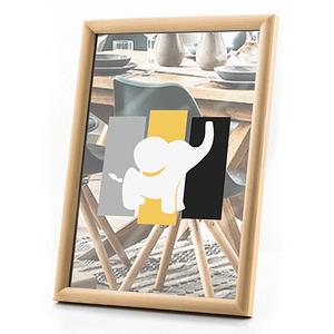 Ramka drewniana szkło – 13×18 cm