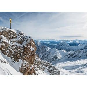 Fototapeta samoprzylepna – Zima w Zugspitze