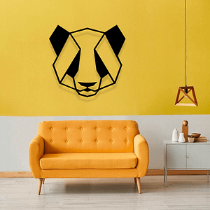 Dekoracja na ścianę PANDA