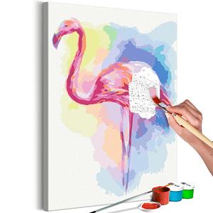 Obraz do samodzielnego malowania – Idealna poza – 40×60