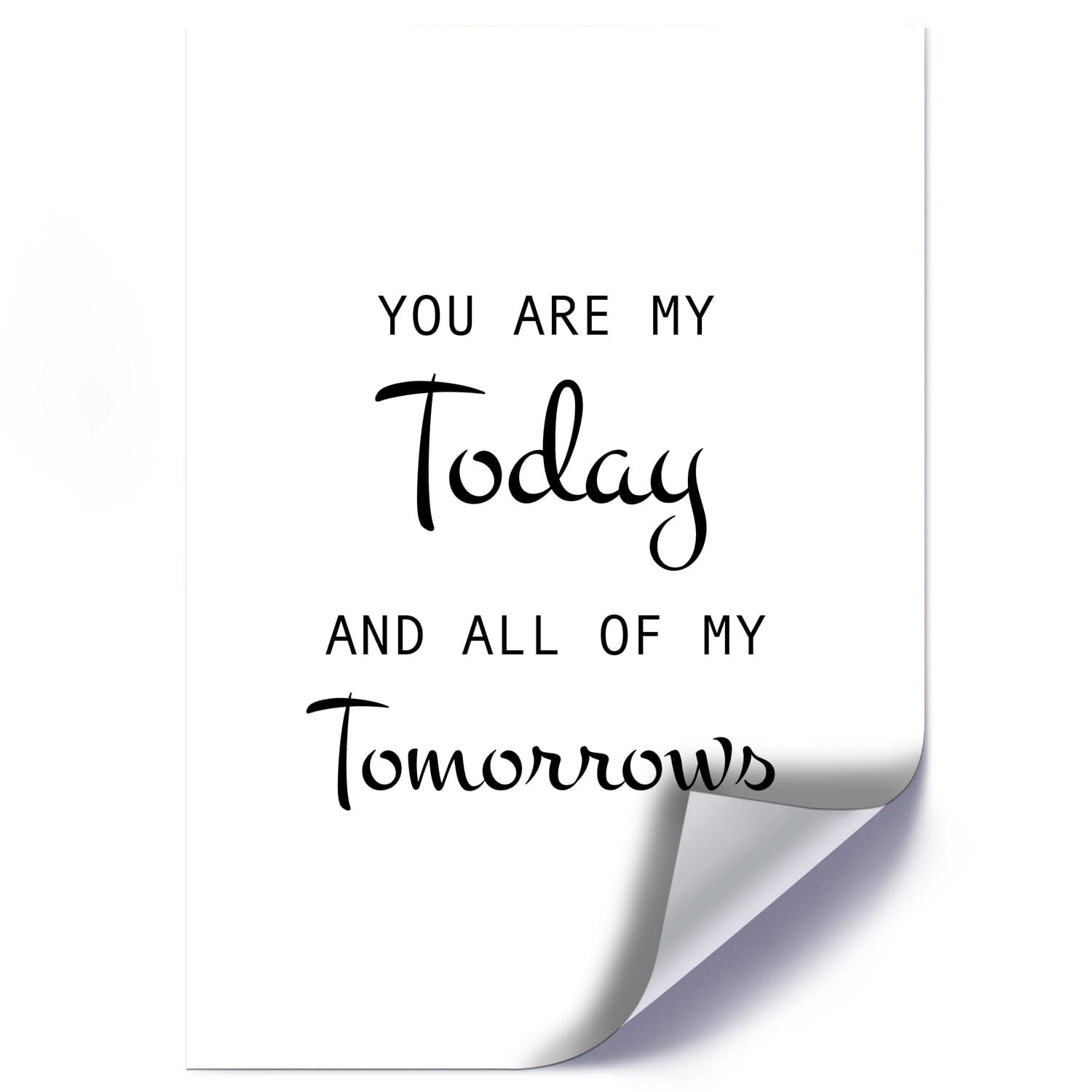 Plakat YOU ARE MY TODAY