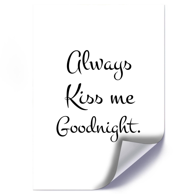 Plakat KISS ME GOODNIGHT