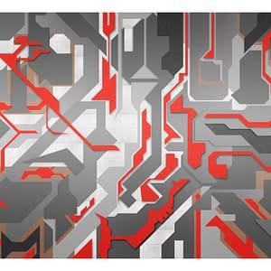 Fototapeta – Abstrakcyjne geometryczne ścieżki